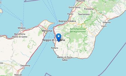 Lieve terremoto sveglia Reggio Calabria, scossa 2.7 intorno alle 7