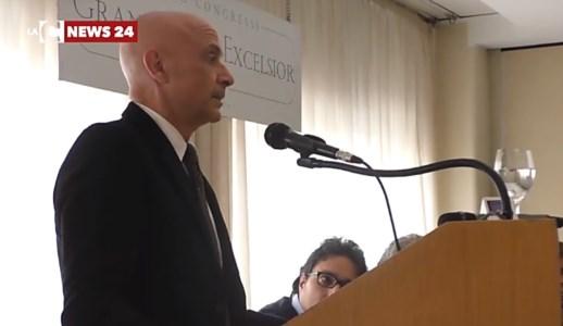 L'ex ministro Minniti