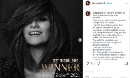 Il post pubblicato su Instagram da Laura Pausini