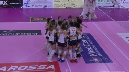 Pallavolo femminile A2, Soverato incassa tre punti contro il Sassuolo