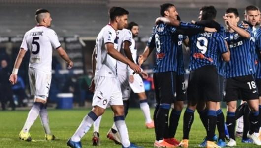 Serie A, il Crotone cade sotto i colpi dell'Atalanta: a Bergamo finisce 5-1