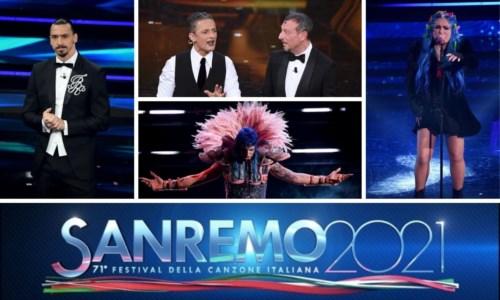 Sanremo, al via il Festival: prima serata divertente come una Pasquetta su Zoom