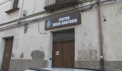 La sede del centro socio-sanitario di San Fili dove sono stati somministrati i vaccini