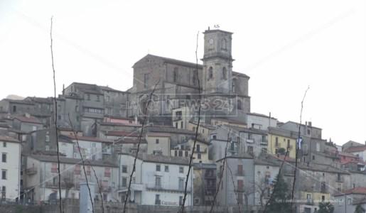 Una panoramica del borgo di San Fili