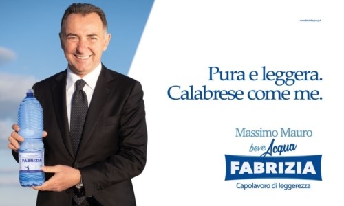 Acqua Fabrizia sceglie il testimonial Massimo Mauro per la nuova campagna firmata Gruppo Pubbliemme