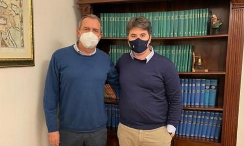 Luigi de Magistris e Antonio Lo Schiavo