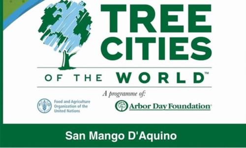 """San Mango """"città degli alberi"""" per il 2020: sono solo sette in tutta Italia"""