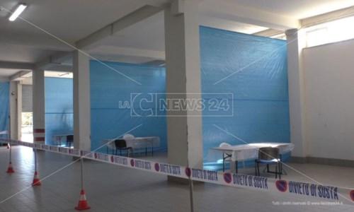 Vaccini Covid, a Crotone allestito il centro nella sede della Croce rossa