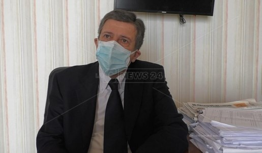 Il neo commissario Gianluigi Scaffidi