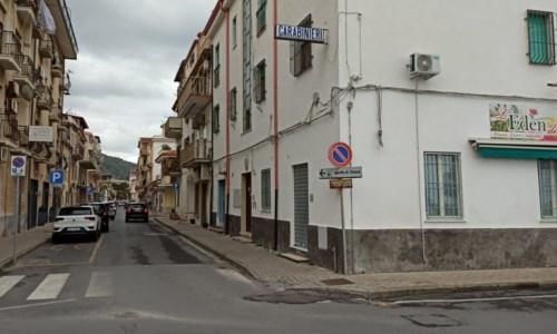 La caserma dei carabinieri di Cetraro