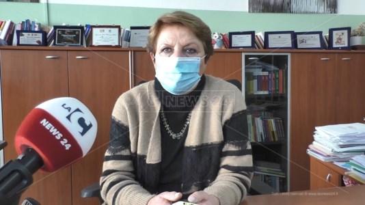 La dirigente scolastica del liceo classico di Catanzaro, Elena de Filippis
