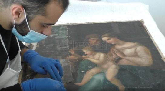 Reggio Calabria, a restauro le tele di Annunziato e Tommaso Vitrioli
