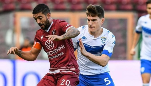 Serie B, per la Reggina tracollo indolore in casa: poker del Frosinone al Granillo