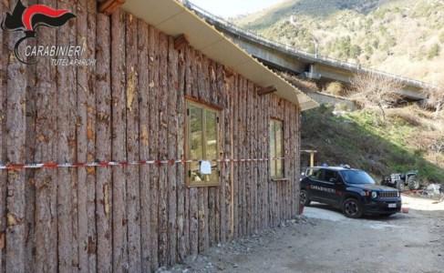 Longobucco: manufatto abusivo nell'area del Parco Sila, scatta il sequestro