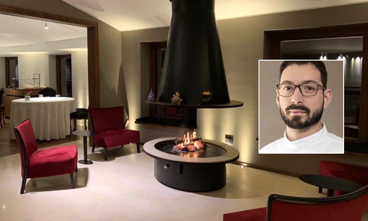 Il ristorante e, nel riquadro, Antonio Biafora