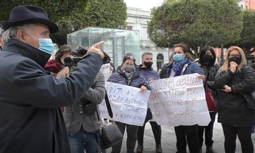 La manifestazione di oggi a Reggio Calabria