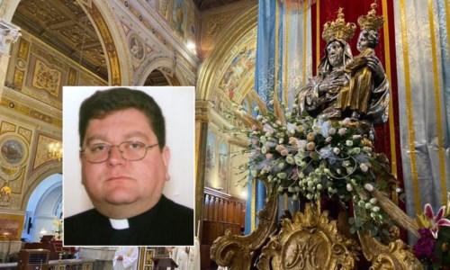 Nel riquadro,il nuovo vescovo Aloise
