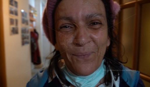 Antonietta, una delle ospiti della struttura