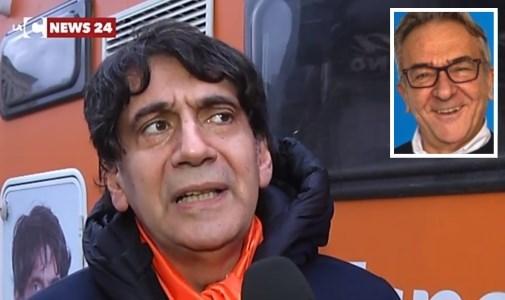 Carlo Tansi e il medico Antonino Coco
