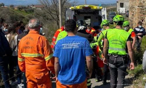 Anziano scomparso a Santa Sofia D'Epiro ritrovato in una zona impervia: sta bene