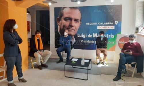 L'inaugurazione del comitato a Reggio Calabria