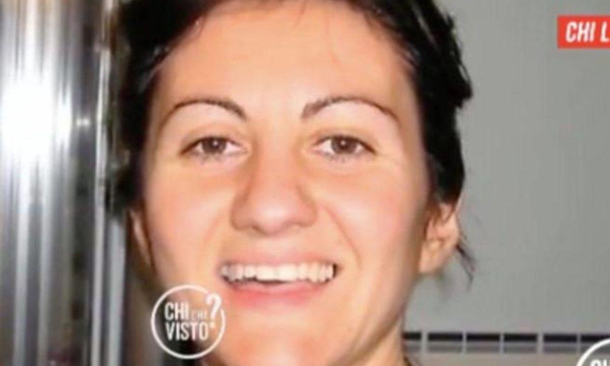 Barbara Corvi, foto dalla puntata di Chi l'ha visto
