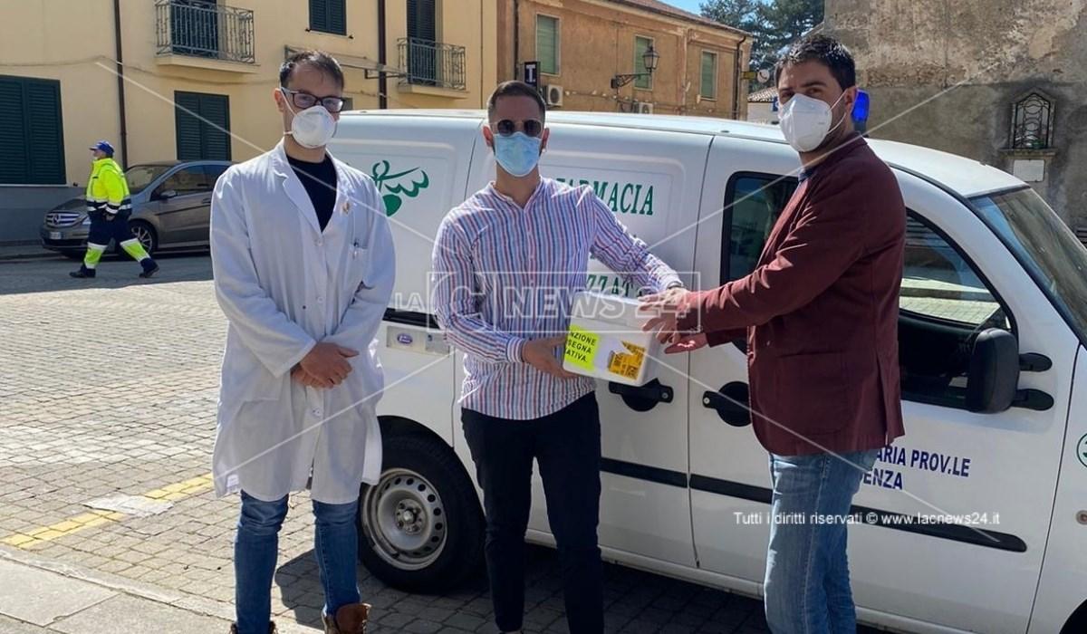 La consegna dei vaccini