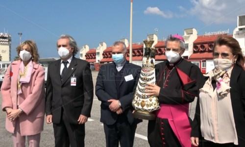 Arrivata a Lamezia la Madonna di Loreto: è la patrona degli aeronauti