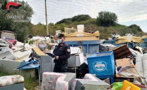 Sibaritide, sequestrato il centro di raccolta rifiuti comunale di Calopezzati