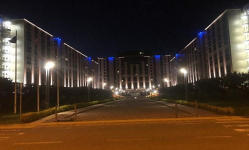 Autismo, la cittadella regionale s'illumina di blu per la giornata mondiale