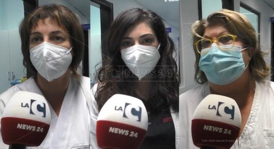 Francesca De Fazio, Milena Barone e Marina Ciappelloni