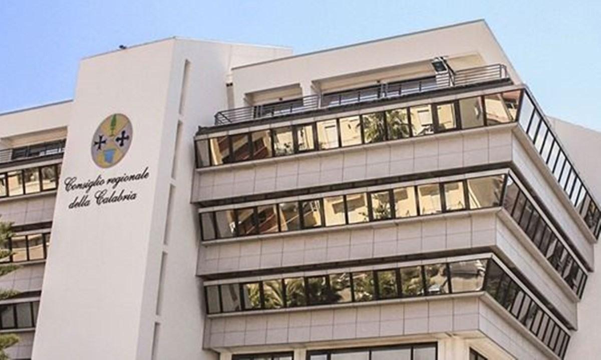 La sede del Consiglio regionale della Calabria