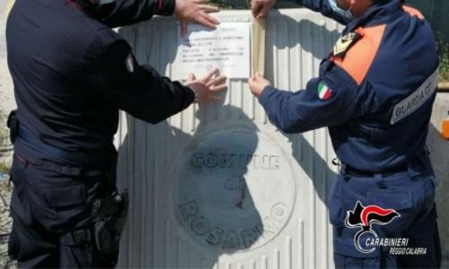 Rosarno, sversamento illecito di rifiuti: sequestrata area demaniale marittima