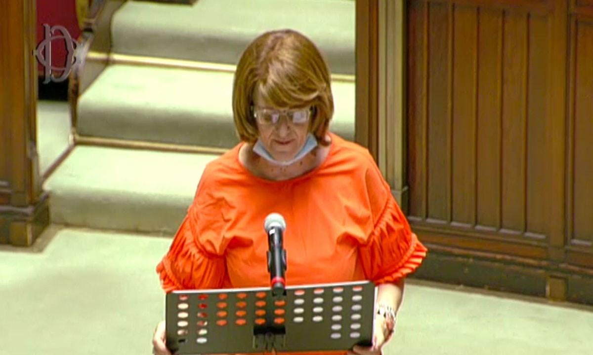 La deputata pentastellata Elisabetta Barbuto