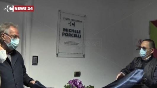 Gli studi LaC intitolati alla memoria di Michele Porcelli: «Con noi era e con noi rimarrà per sempre»
