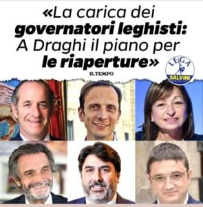 """La Lega """"dimentica"""" Spirlì nel post sui governatori: salta la candidatura in Calabria?"""