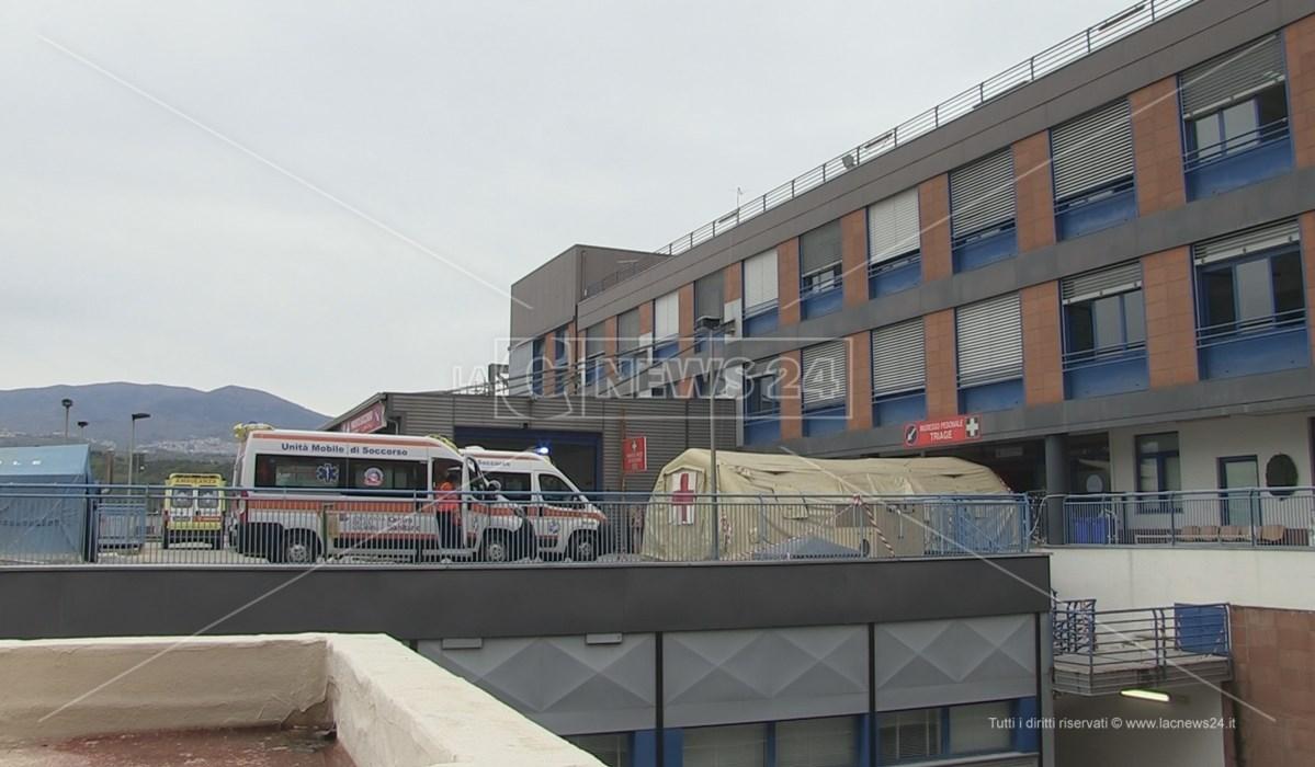Ambulanze al pronto soccorso di Cosenza