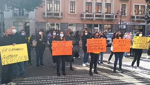 La protesta a Crotone
