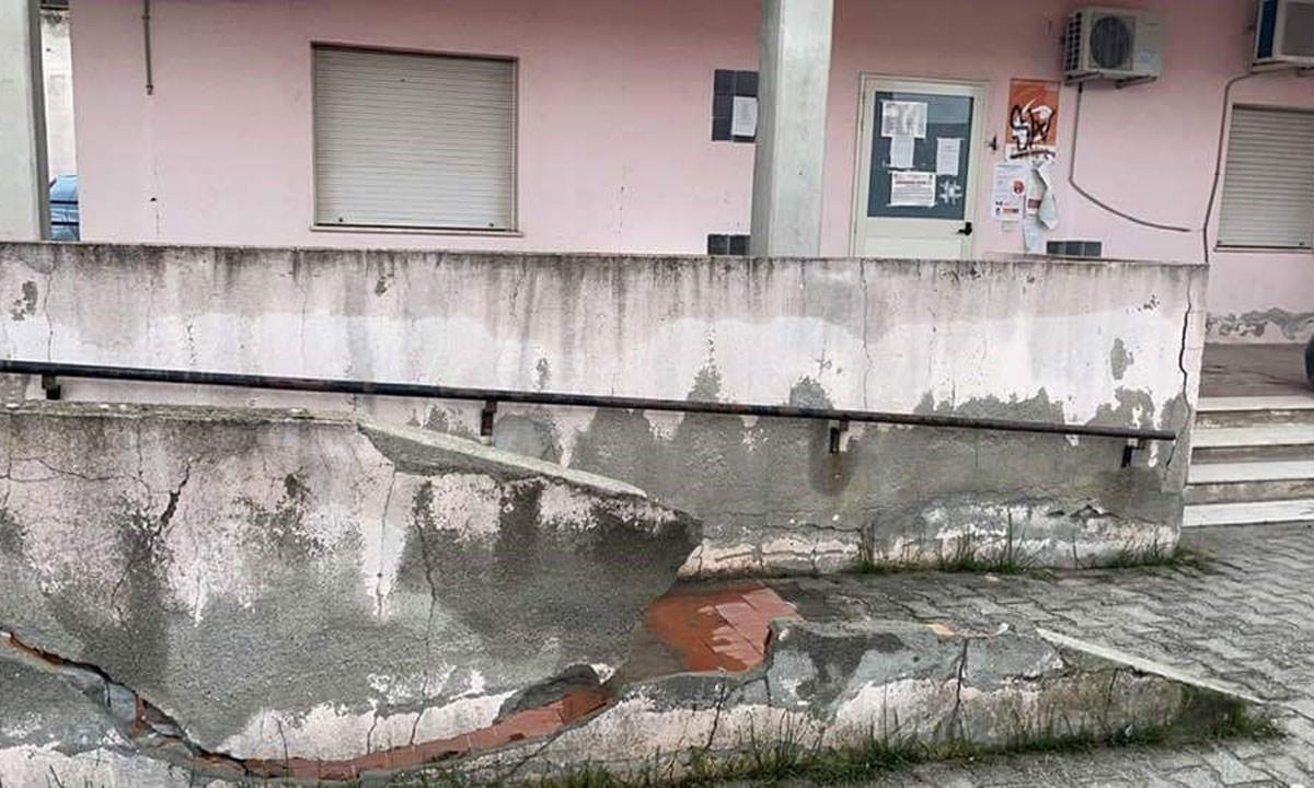 La sede Asp a Crotonei