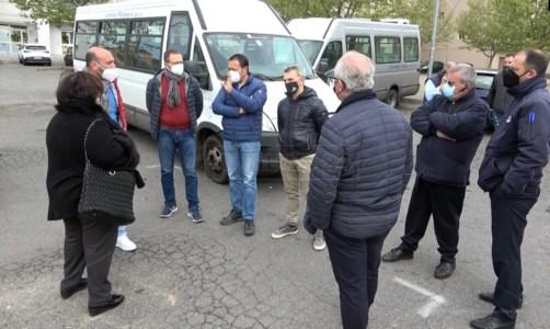 Trasporti in Calabria e interregionali, protestano gli autisti: «Siamo alla fame»