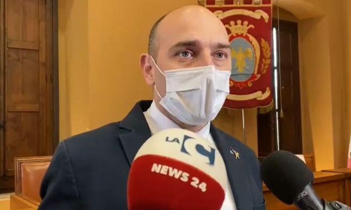 Il viceministro alle Infrastrutture Alessandro Morelli