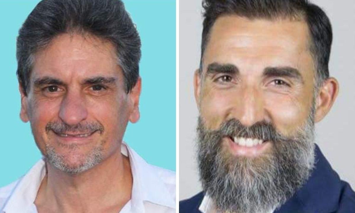 A destra Fabrizio Meo, a sinistra Alessandro Manica