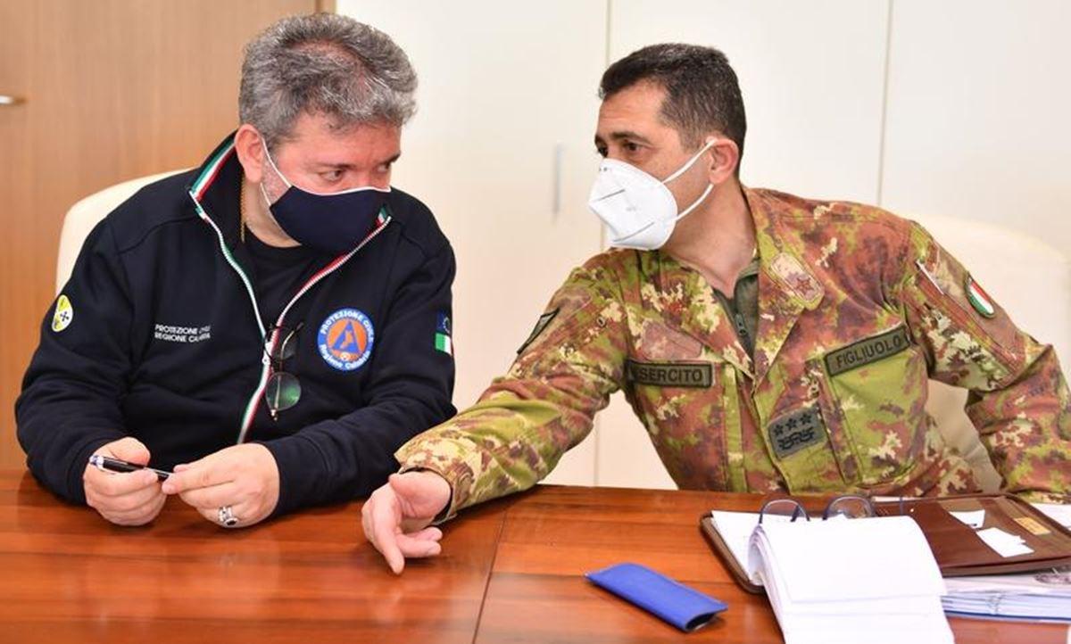 Nino Spirlì e Francesco Figliuolo