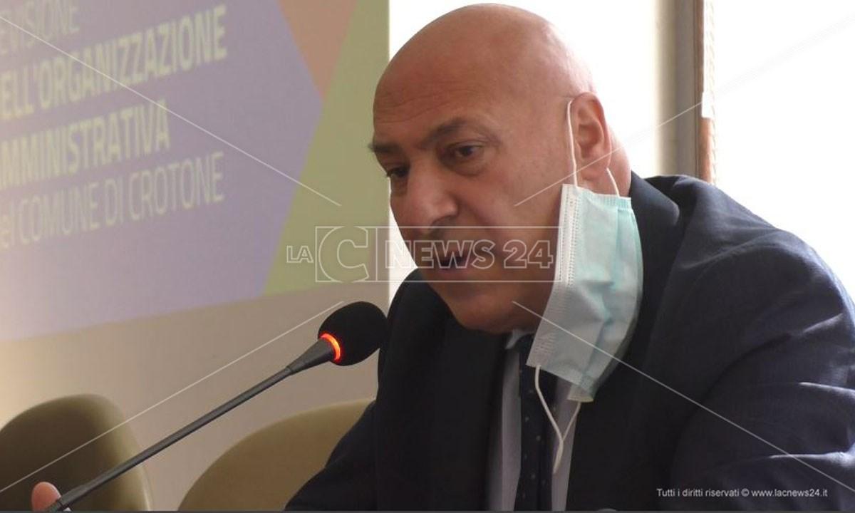 Antonio Voce, sindaco di Crotone