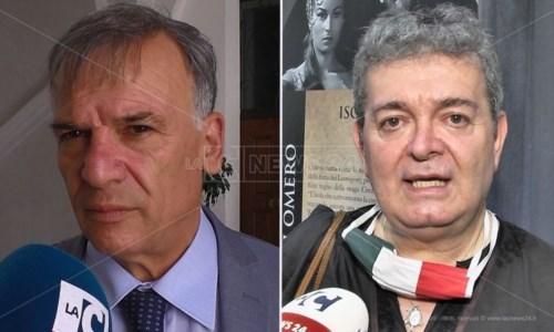 Domenico Tallini e Nino Spirlì