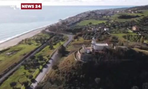 La costa tra Camini e Monasterace