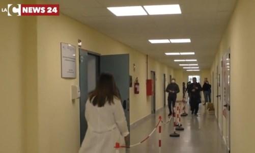 Il nuovo centro vaccini di Reggio Calabria