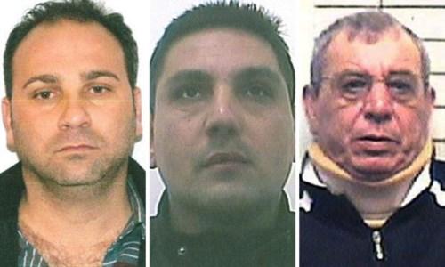 Da sinistra Montella, Morelli ed Enzo Barba
