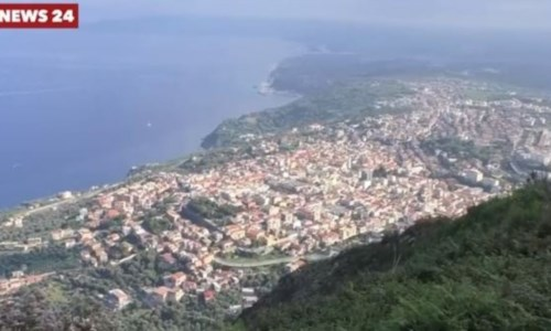 Palmi vista dal monte Sant'Elia