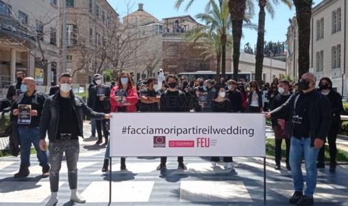 «Settore matrimoni dimenticato dal Governo»: proteste anche in Calabria